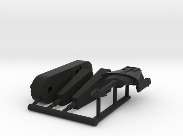 6k L9 Saber Frigate in Black Natural Versatile Plastic