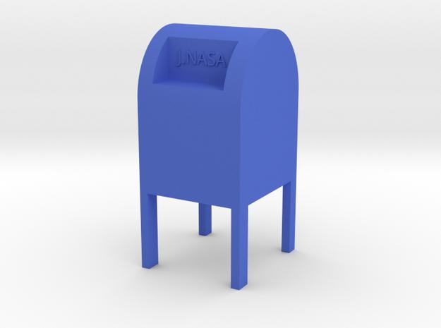 USPS in Blue Processed Versatile Plastic