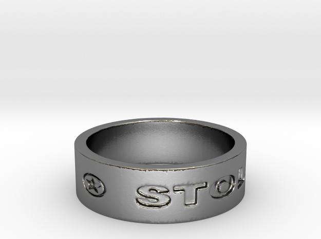 57 STOLEN V1 Ring Size 7 in Polished Silver
