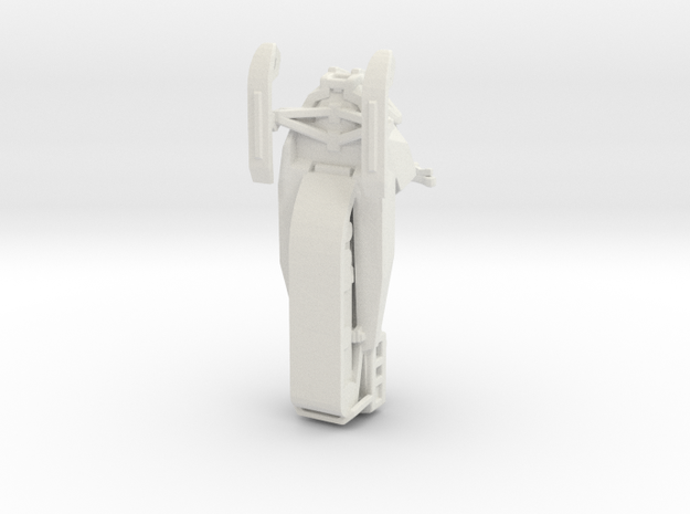 BF4 snowmobile 1:35 in White Natural Versatile Plastic