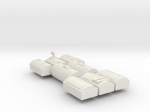 3788 Scale Iridani Supply Dock MGL in White Natural Versatile Plastic