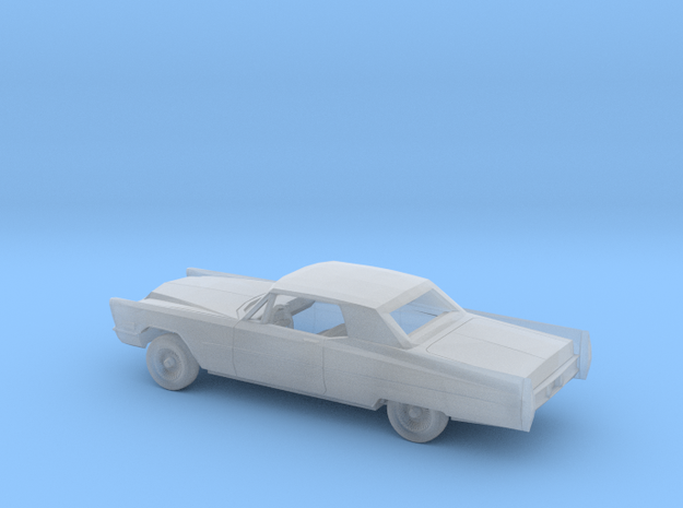 1/87 1967 Cadillac DeVille Coupe Kit in Smooth Fine Detail Plastic
