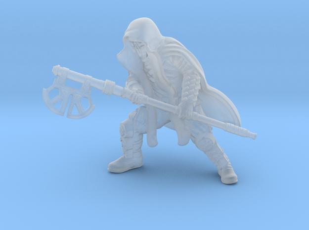 Dark Warrior Axe in Smooth Fine Detail Plastic