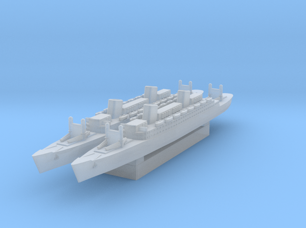 Ocean Liner (Axis & Allies) in Smooth Fine Detail Plastic