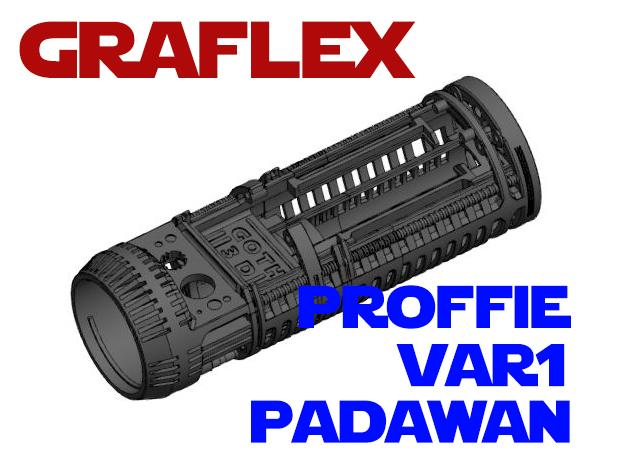 Graflex Padawan Var1 - CFX in White Natural Versatile Plastic