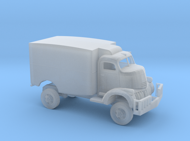 1/87 1941 Chevrolet COE Panel Movie Truck Kit in Smooth Fine Detail Plastic