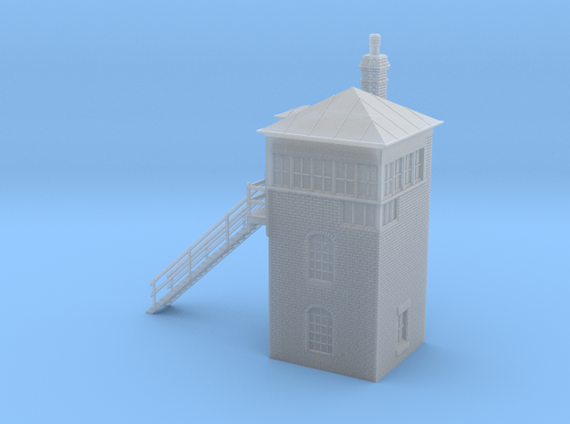 BB21 Blythe Bridge Signal Box in Smooth Fine Detail Plastic