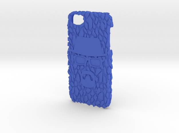 Crystal Meth ice case with bad Wally emblem 3d printed