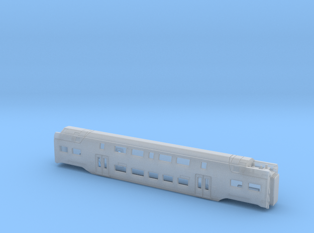 BLS RABe 515 MUTZ Centre Carriage 2 in Smooth Fine Detail Plastic: 1:160 - N