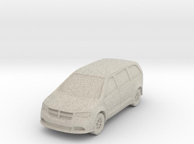 """Minivan at 1""""=8' Scale in Sandstone"""
