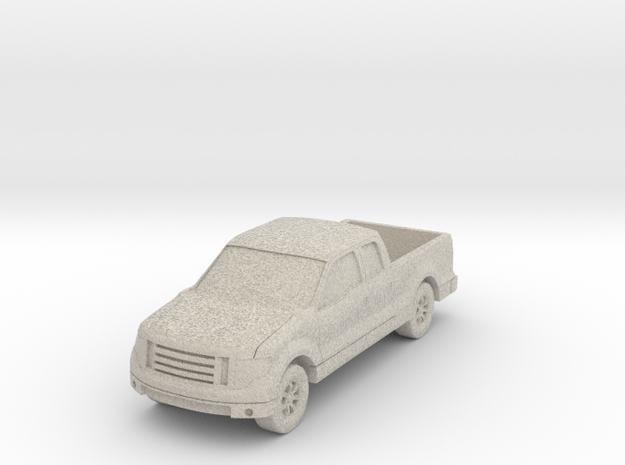 "Truck at 1""=8' Scale in Natural Sandstone"