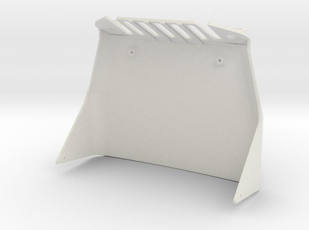 SCX24 Miller Motorsports Hood in White Natural Versatile Plastic