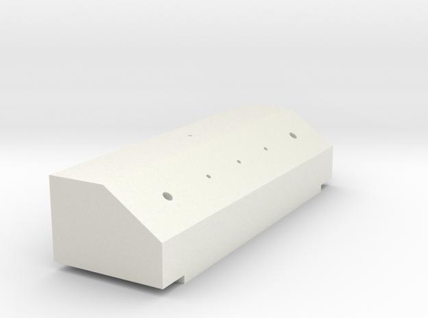 King Hauler Airline Box #3 in White Natural Versatile Plastic
