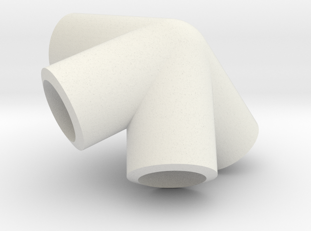 Dave Large in White Natural Versatile Plastic