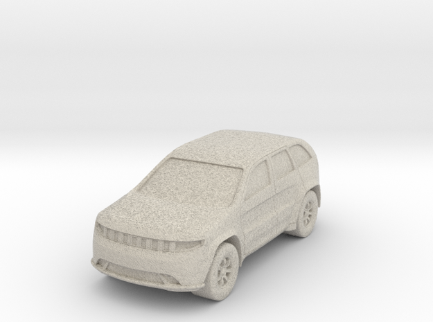 """SUV at 1""""=10' Scale in Natural Sandstone"""