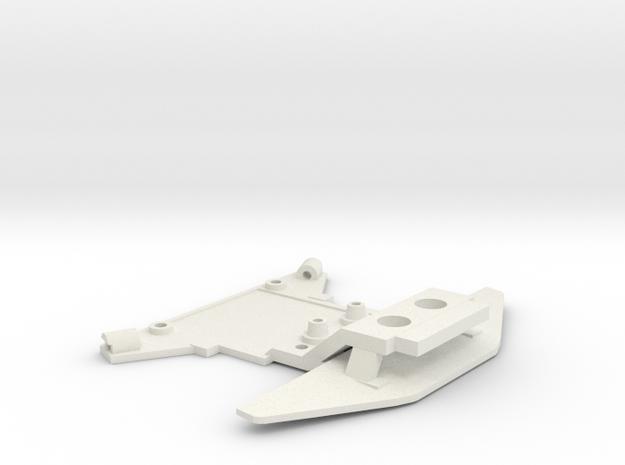 Jomurema front v7 widePN in White Natural Versatile Plastic