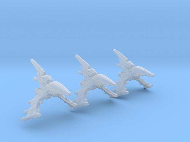 Eldar Navy Nightshade destroyer 3 mod./fleet scale