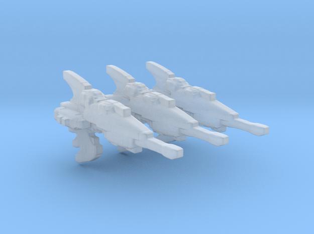 Eldar Navy Hellebore frigate 3 models/fleet scale