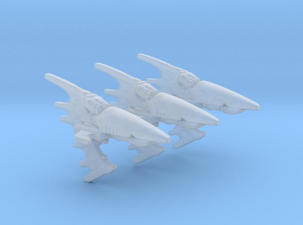 Eldar Navy Aconite frigate 3 models/fleet scale