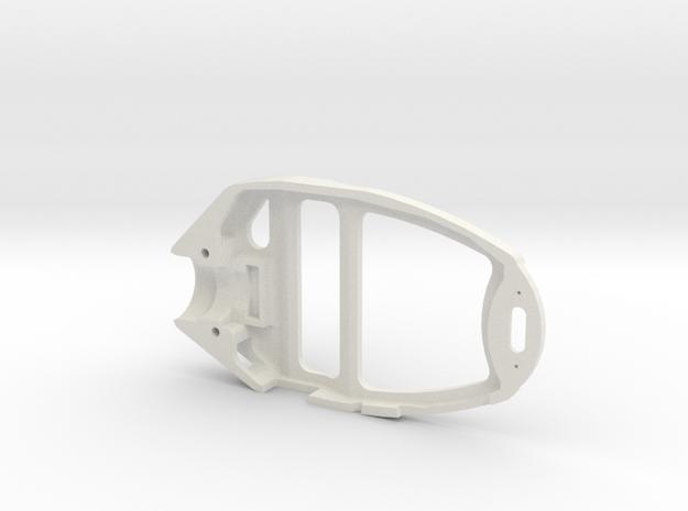808 Headcase Bottom Lite in White Natural Versatile Plastic