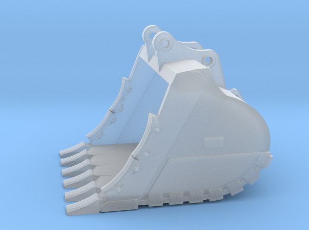 """1:64 84"""" ME Bucket for 385B/385C in Smooth Fine Detail Plastic"""