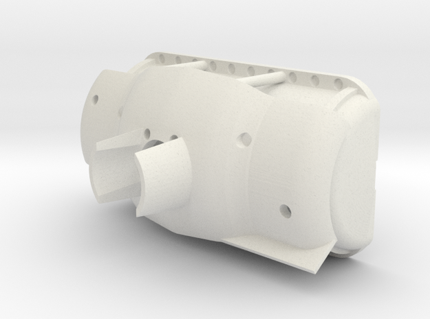 1/9 M4a1 Manlet in White Natural Versatile Plastic