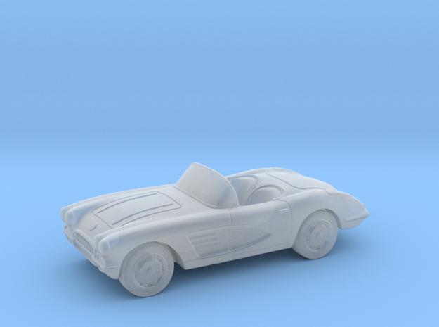 Chevrolet Corvette Convertible  1:87 HO in Smooth Fine Detail Plastic