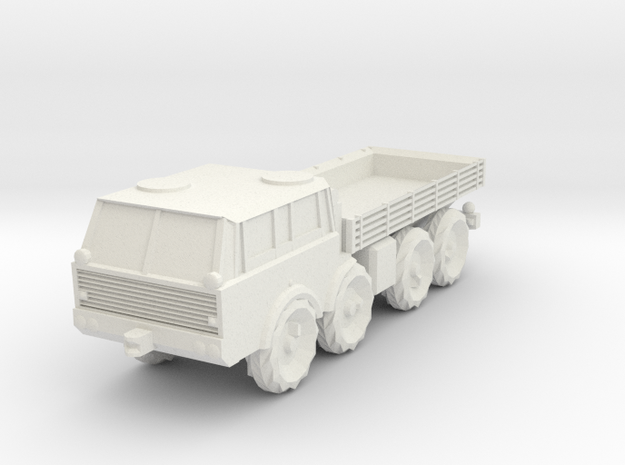 H0 Scale Tatra 813, no cover in White Natural Versatile Plastic