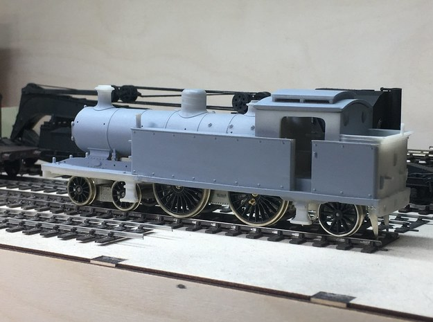 LBSCR (I 3) - Regular roof w/ flat dome in White Natural Versatile Plastic