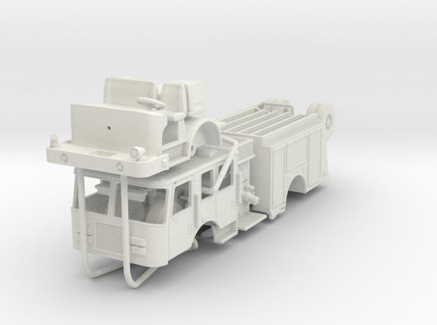 1/87 1995 KME Engine V1 in White Natural Versatile Plastic
