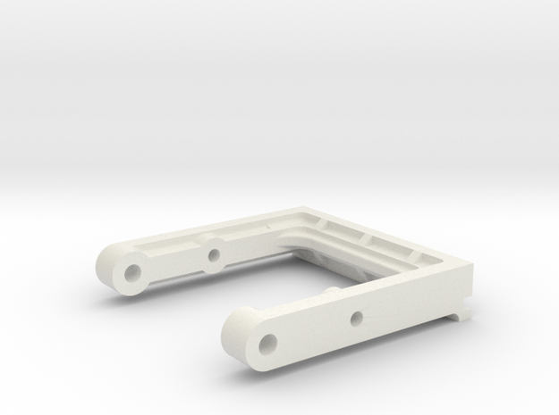 Kyosho Optima Front Support OT-49 in White Natural Versatile Plastic