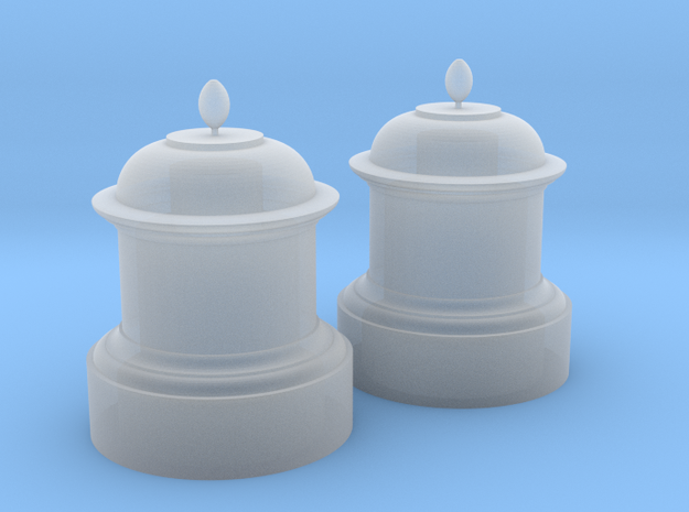 Chevallier (Bowaters) 16mm Scale Sand Domes in Smooth Fine Detail Plastic