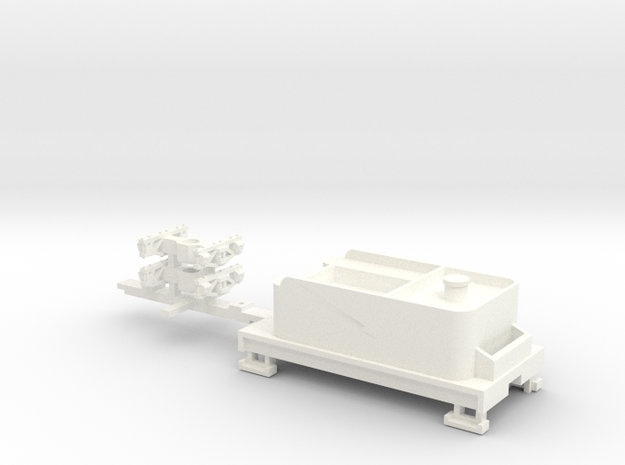 Small 8 wheel Tender for HOn30 F&C loco, A2