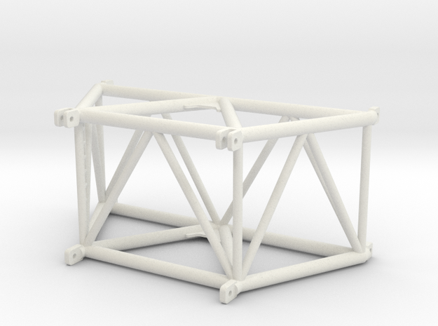 SX_ 3.5m_top_section in White Natural Versatile Plastic