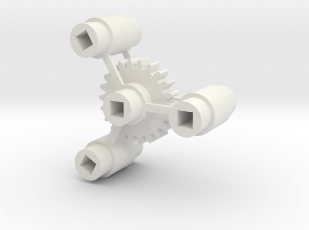 Bachmann Plus Reading 2-8-0 Gear and Axle Centers in White Natural Versatile Plastic