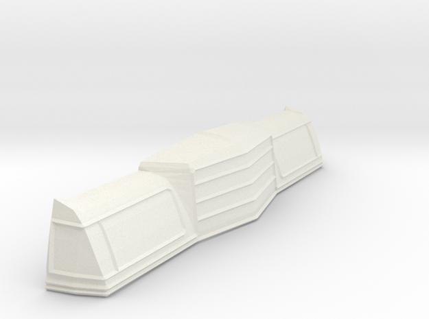 1/25 1979 Dodge Magnum Front in White Natural Versatile Plastic