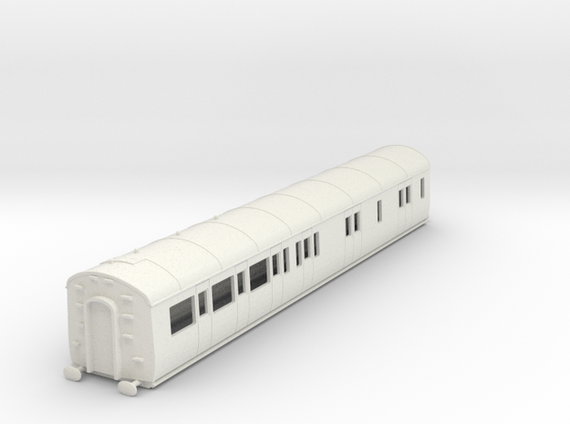 o-76-gwr-d94-rh-brake-3rd-coach in White Natural Versatile Plastic