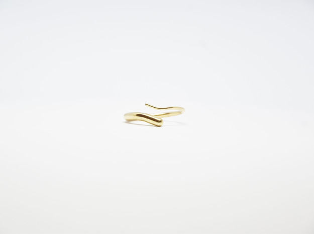 Worm Ring  in Natural Bronze: 5 / 49