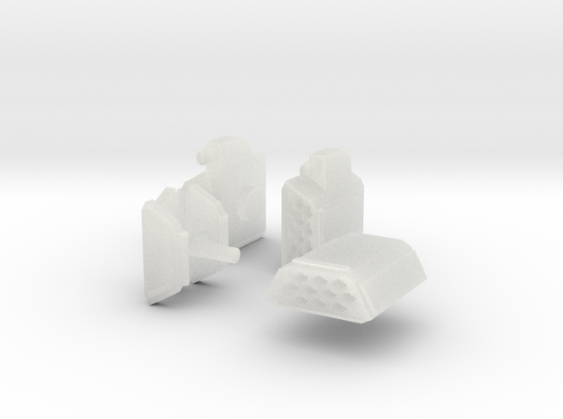 pods in Smooth Fine Detail Plastic
