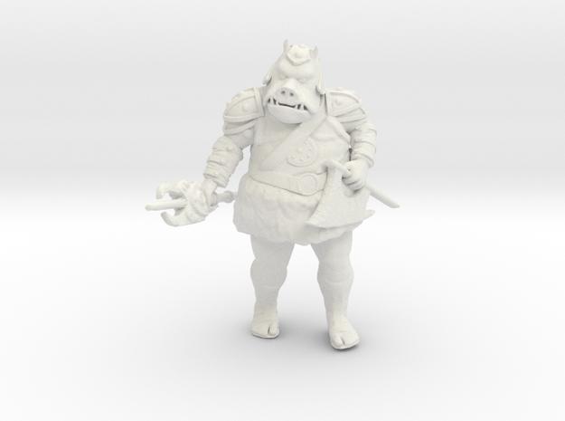 Gamorrean Guard 1 Legion Scale  in White Natural Versatile Plastic