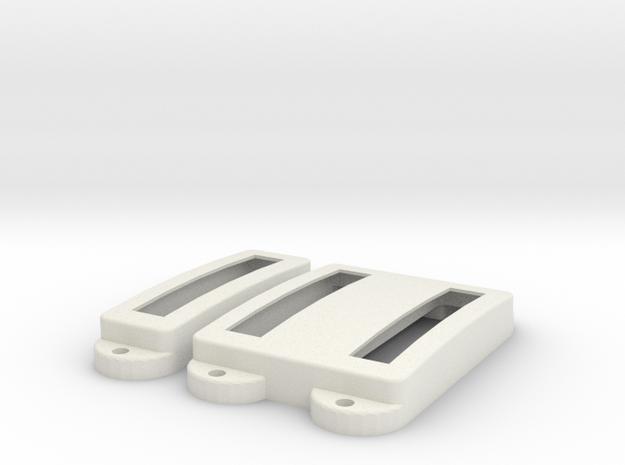 SG3 Pickup Cover Set in White Premium Versatile Plastic