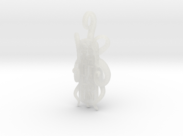 Cthulhu Fhtagn Pendant 3d printed