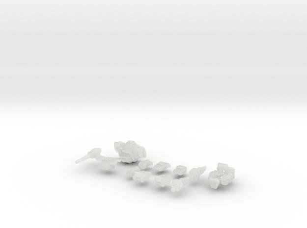 TRO3063 - PV-2L in Smooth Fine Detail Plastic