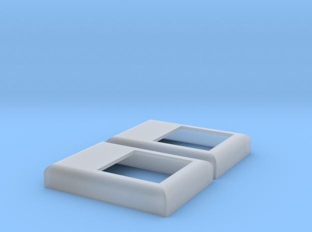 SD / F45 Winterization Hatch (S - 1:64) 2X in Smooth Fine Detail Plastic