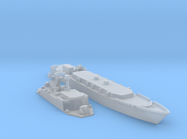 POHJANMAA MINELAYER MODERNISED 2 PART in Smooth Fine Detail Plastic