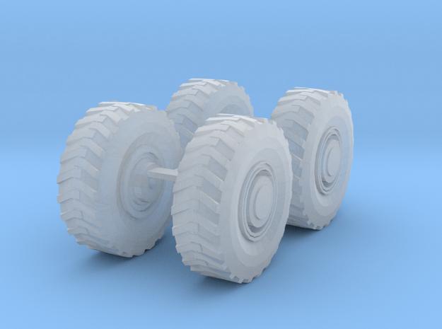 1/87 20.5x25 Loader Tires in Smoothest Fine Detail Plastic