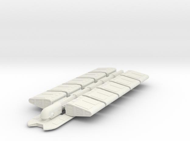 FRIGHTRUNNER in White Natural Versatile Plastic