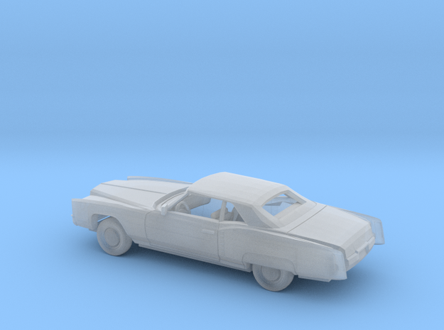 1/87 1971-73 Cadillac Eldorado Convertible Kit in Smooth Fine Detail Plastic
