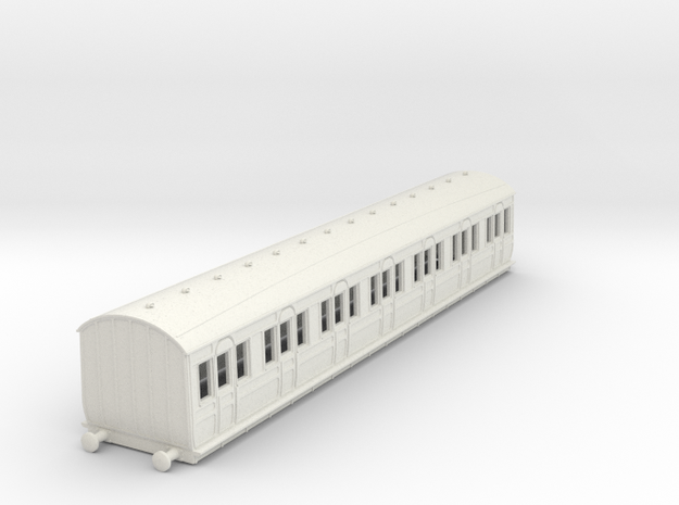 o-100-met-dreadnought-1st-class-coach in White Natural Versatile Plastic