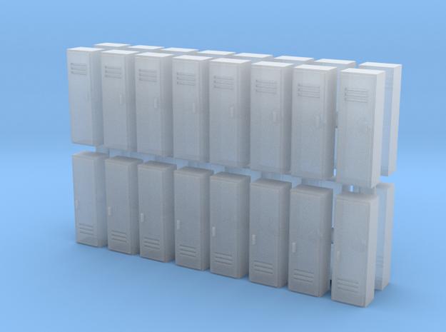 Locker (x32) 1/285 in Smooth Fine Detail Plastic